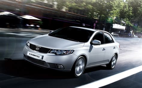 Kia Cities Kia Cerato On City Streets Wallpapers And Images