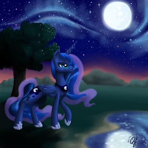 princess luna my little pony fan labor wiki wikia image princess luna wallpaper by artist qingfey png my