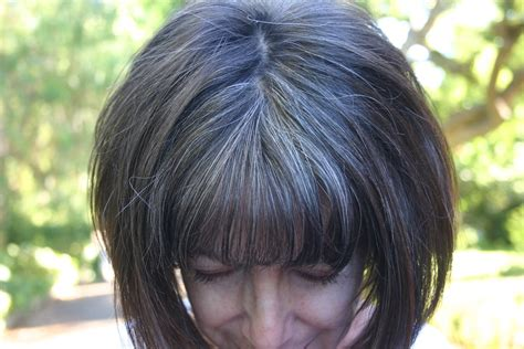 transitioning to gray hair with lowlights transitioning to gray hair with lowlights short
