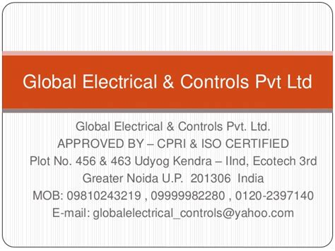 global themes pvt ltd global electrical controls pvt ltd
