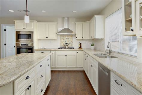 white cabinets with granite river white granite countertops pictures cost pros cons