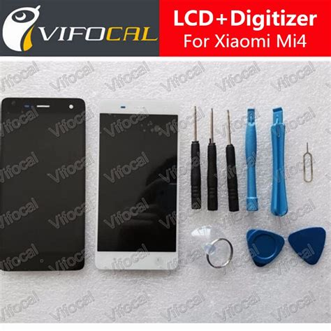Lcd Touchscreen Xiaomi Mi5 Mi 5 Fullset Original for xiaomi mi4 lcd display touch screen tools set 100 new assembly replacement for m4