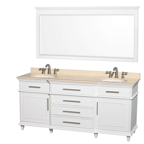 72 inch white bathroom vanity avola windsor 72 inch classic white finish double sink