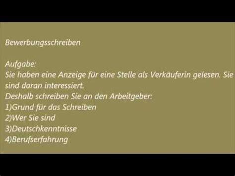 Bewerbung B1 Prufung Deutsche Brief A1 A2 B1 Pr 252 Fung 9 Bewerbung Schreiben Spretan Jezik