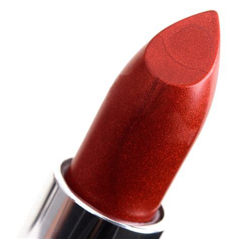 Lipstick Bronze Orange Maybelline maybelline lava copper molten bronze matte