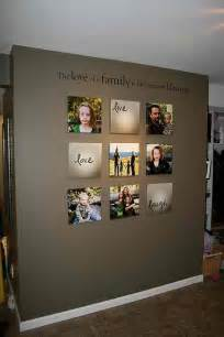 Photography Wall Art Home Decor by Love Family Photo Wall Ideas