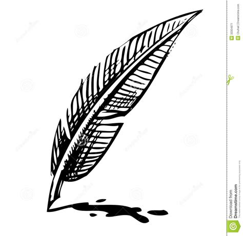 quill sketchbook pen clipart feather pen pencil and in color pen clipart