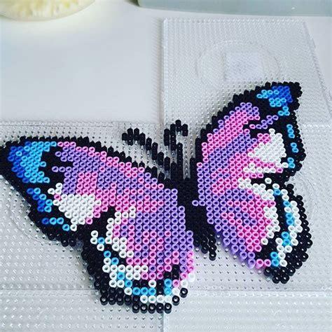 hama bead butterfly pattern best 20 hama ideas on hama design