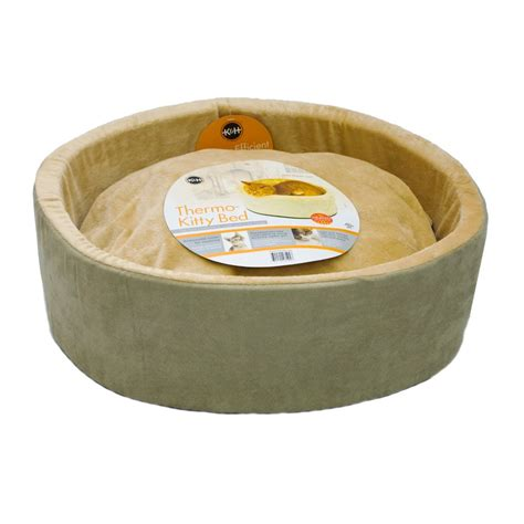 k h thermo kitty heated cat bed k h thermo kitty heated cat bed ebay
