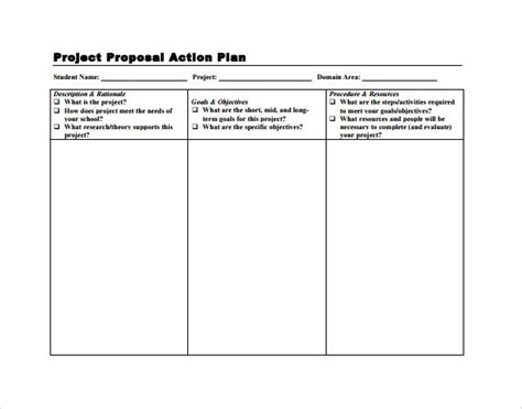 sle project action plan template 15 documents in pdf