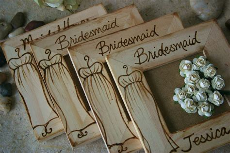 Handmade Bridesmaid Gifts - personalized bridesmaid favors gifts bridal gifts
