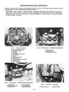 massey ferguson mf 255 mf 265 mf 275 tractor manual