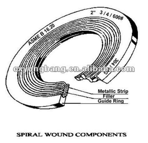 Spiral Wound Gasket Cs Carbon Steel 30 Ansi 150 stainless steel spiral wound gasket buy stainless steel spiral wound gasket metal o ring
