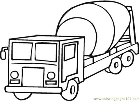 coloring pages cement truck coloring pages cement mixer coloring page transport