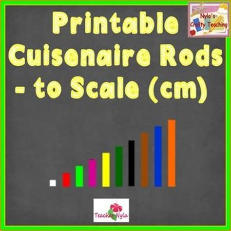 printable cuisenaire rods template cuisenaire rods use these printable sets to represent the