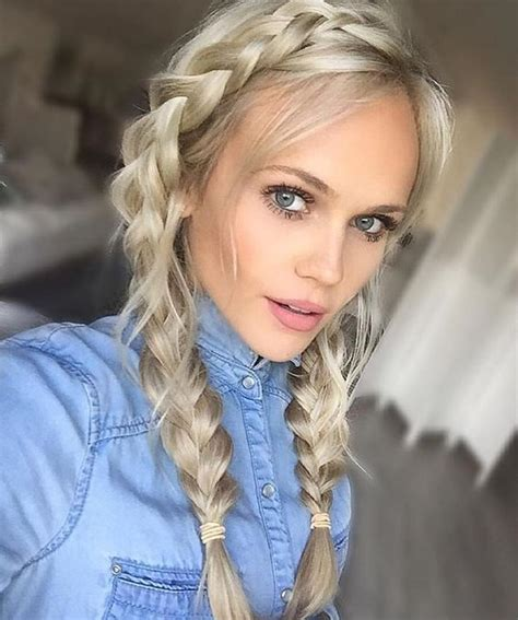 braided hairstyles blonde 17 chic double braided hairstyles you will love styles