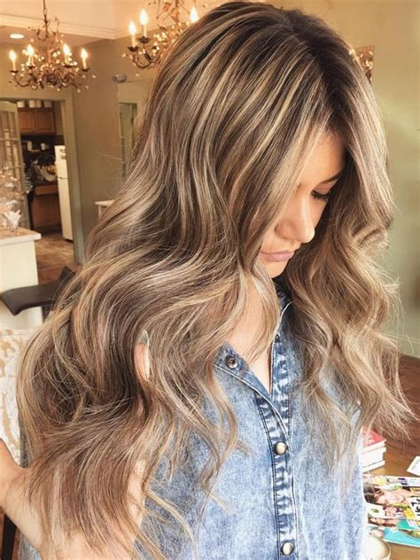 blonde and thin lowlights 35 light brown hair color ideas light brown hair with
