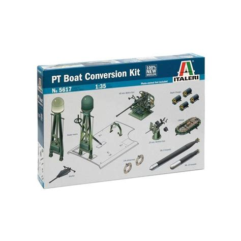 pt boat conversions pt boat conversion kit italeri 5617 1 35 232 me maquette char