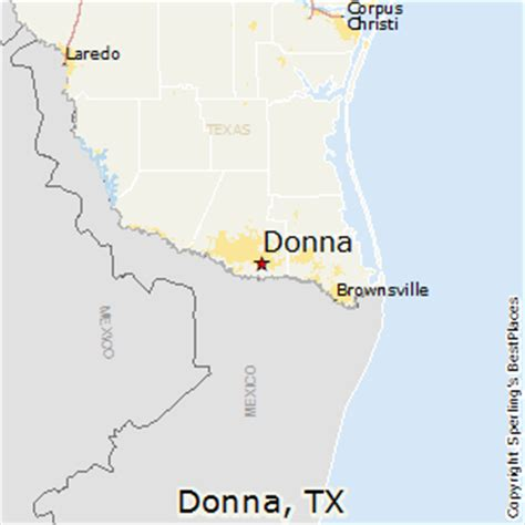 where is donna texas on the map best places to live in donna texas