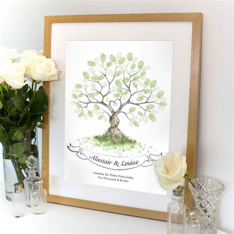 guest book picture entwined fingerprint tree guest book by lillypea event