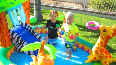 Zoo Pool Play Center intex animal zoo pool