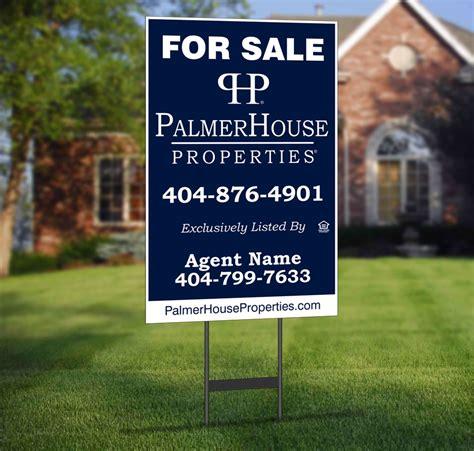 palmer house properties palmer house properties yard signs palmerhouse properties
