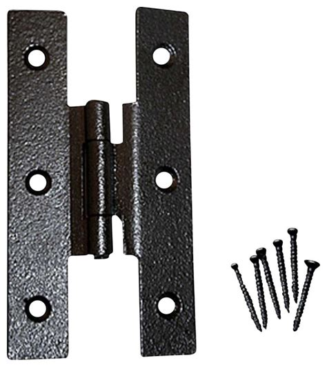 cabinet hinges black wrought iron h hinge 3 1 2 h 3 8