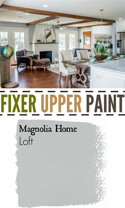 28 paint colours used in fixer paint colors featured on hgtv show fixer
