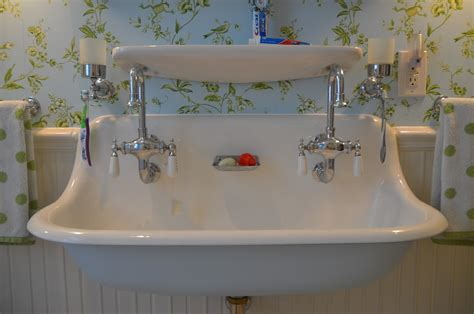 vintage style bathroom sinks the princess and the frog blog trough sink