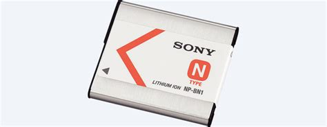 Sonynp Bn1 bn1 rechargeable battery np bn1 sony uk