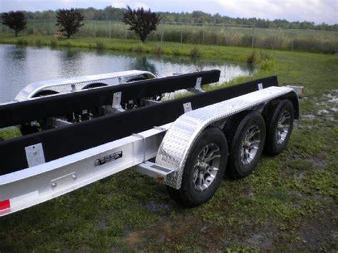 boat trailer illinois aluminum tri axle boat trailer 27 30 ft 14300 lbs chicago