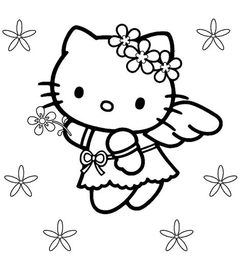 coloring pages and hello kitty hello kitty pictures hello kitty coloring pages