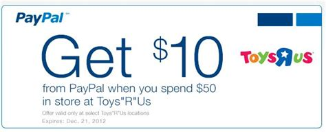 Save 50 At Pawniquely Yours by Save 10 50 At Toys R Us With Paypal