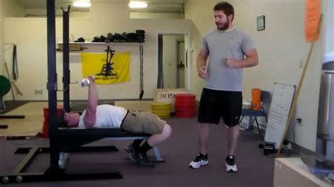 bench press bar path bench press tip bar path youtube