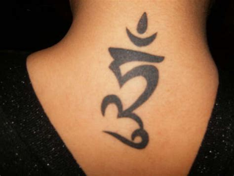 tribal ohm tattoo ohm symbol