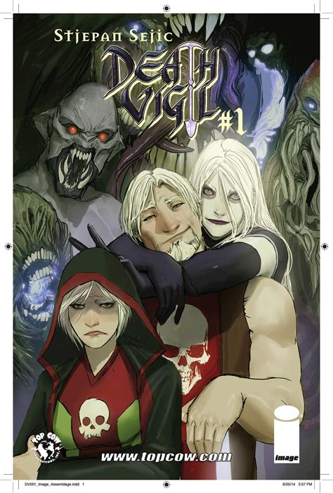 death vigil volume 1 death vigil by nebezial on