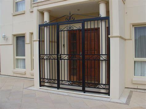 security doors galleries hindmarsh fencing wrought