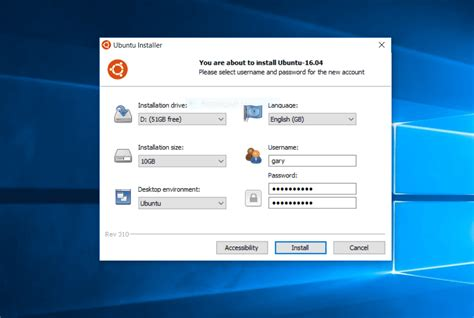 install windows 10 in ubuntu how to install ubuntu inside windows using wubi with uefi