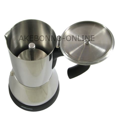 Pembuat Kopi Moka Pot Coffee Maker Akebonno peralatan minum akebonno electric moka pot 4 cups