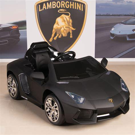 Lamborghini Kid Car by Lamborghini Aventador 12v Ride On Battery Power
