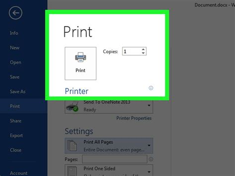 how to print a two sided document using microsoft word or how to print double sided documents on any printer 8 steps