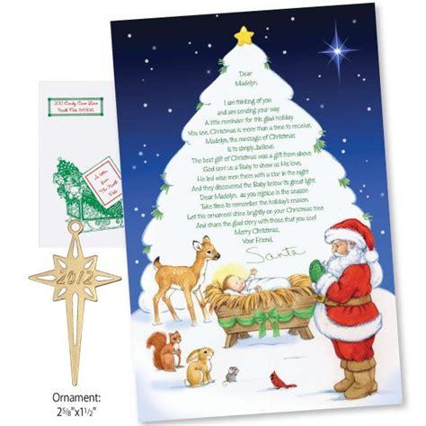 christian letter santa christmas letter template