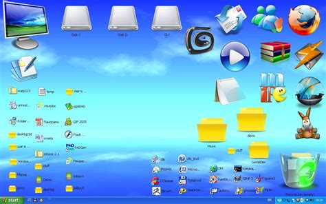 desktop themes and icons sreenshot desktop3d 2 0 themes windows themes
