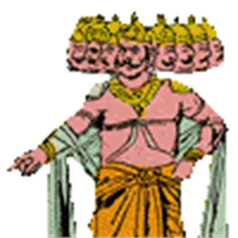 Sandal Ravana by Ramayana Major Characters