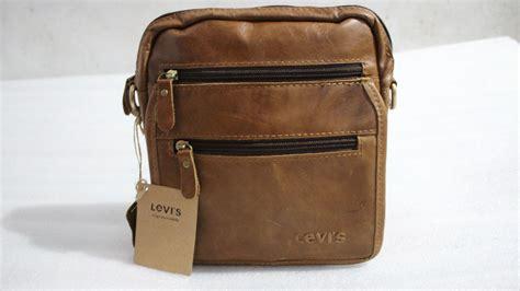 Tas Import C576 Tiga Pilihan Warna jual tas selempang kulit levis quot import quot jamin 100 kulit asli 8836 barangbagus shop