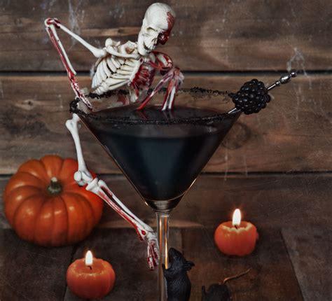 martini halloween haunting halloween cocktail recipe bbc good food