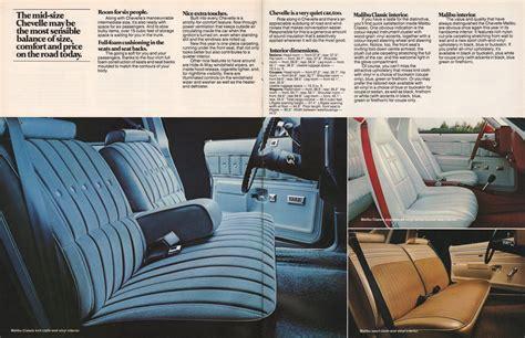 GM 1977 Chevrolet Chevelle Sales Brochure 04 Chevy Suburban Paint Colors