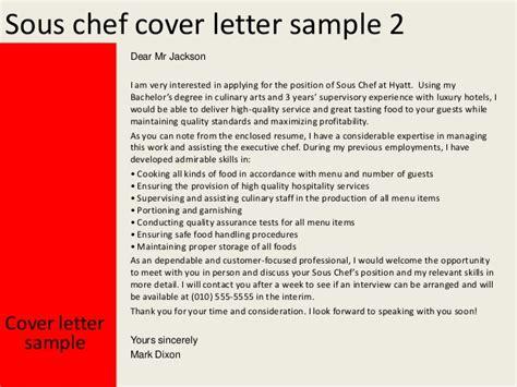 cover letter demi chef 28 images chef de partie cover