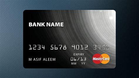 12 Free Psd Credit Card Mockups Freecreatives Credit Card Mockup Template