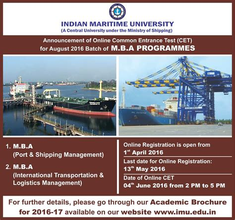Tnsf Consortium Mba Model Question Paper by Welcome To Indian Maritime